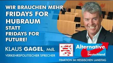 AfD - Gagel: Stets im Kampf gegen unsere Zukunft.