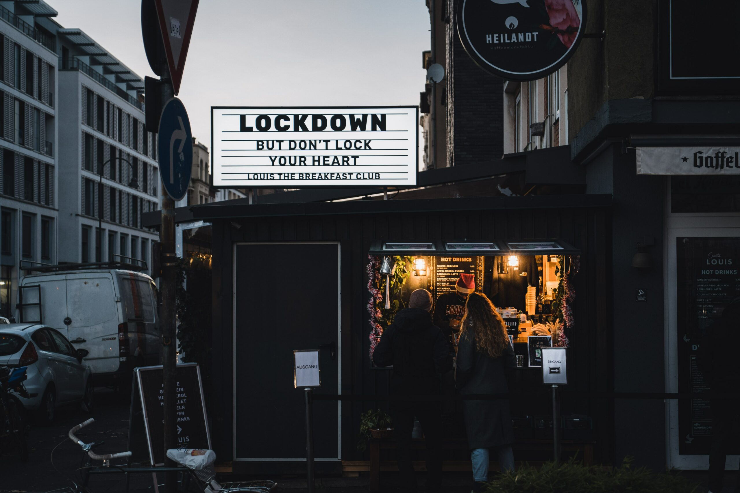 It's Lockdown - But don't lock down your heart