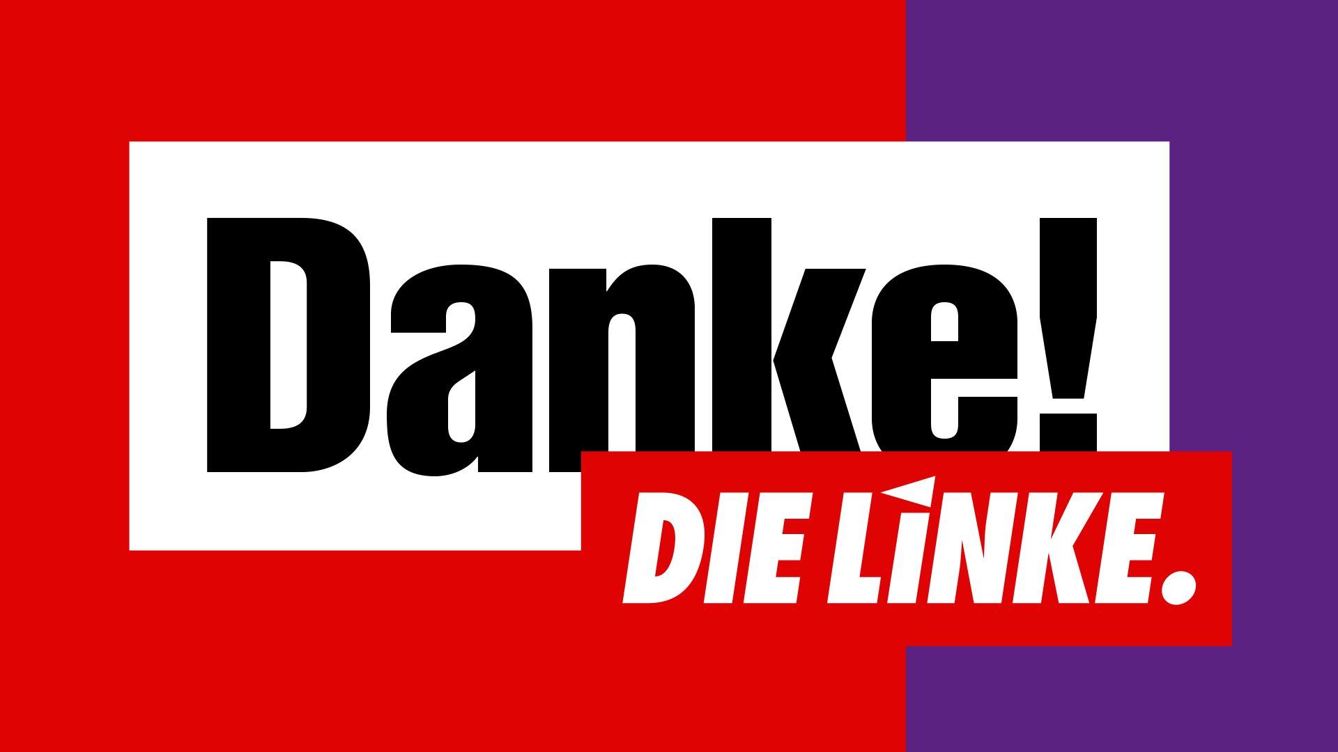 DIE LINKE - Danke!